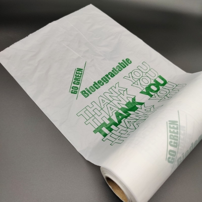 Biodegradable roll bag